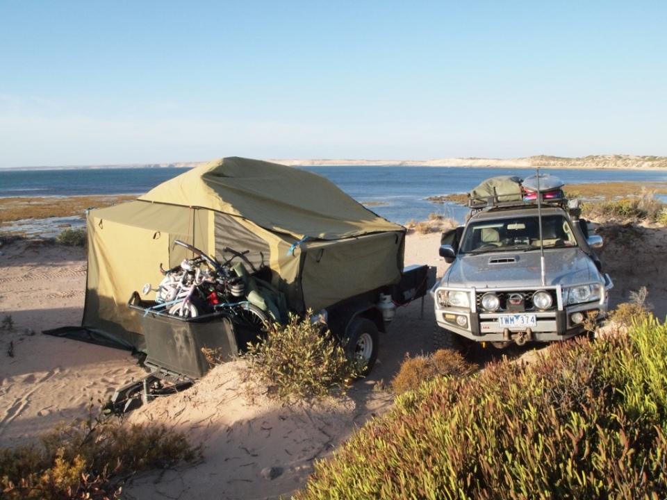 Tractor Beach Camp
