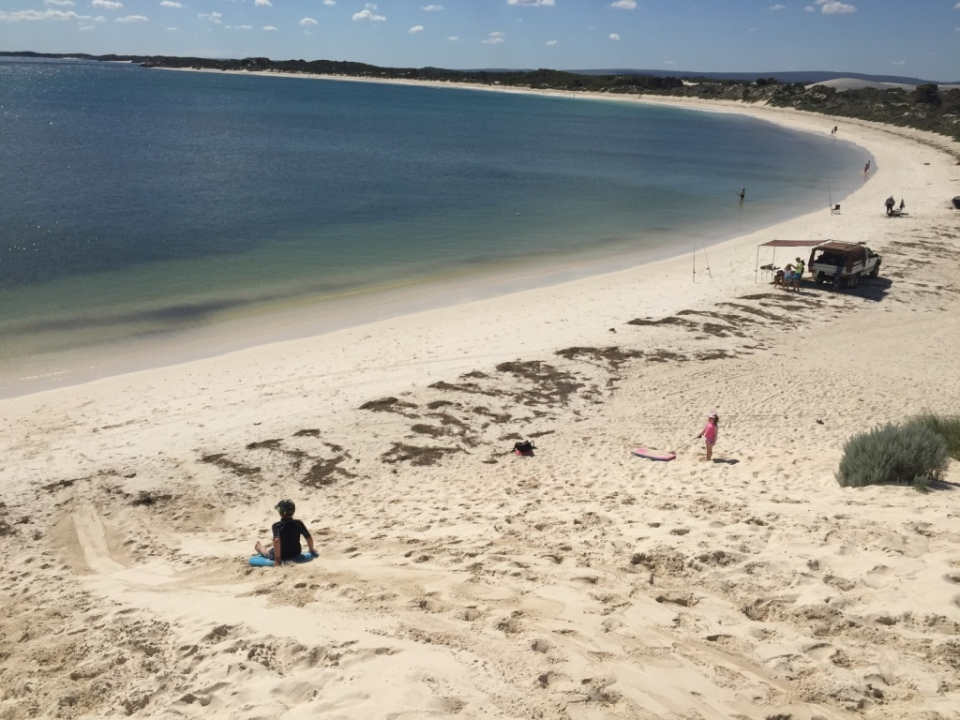 Sandy Point beach