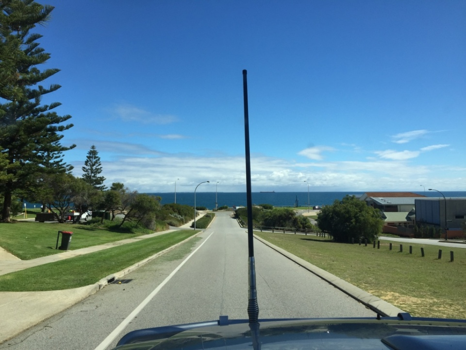 Leaving lovely Cottesloe