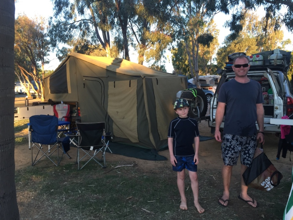 camp in Kalbarri