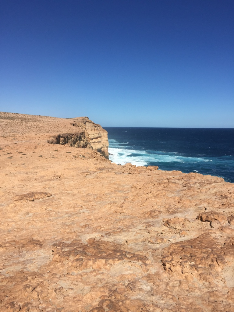 Awesome coast line and big blue Indian Ocean views