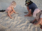 Playing in the shells