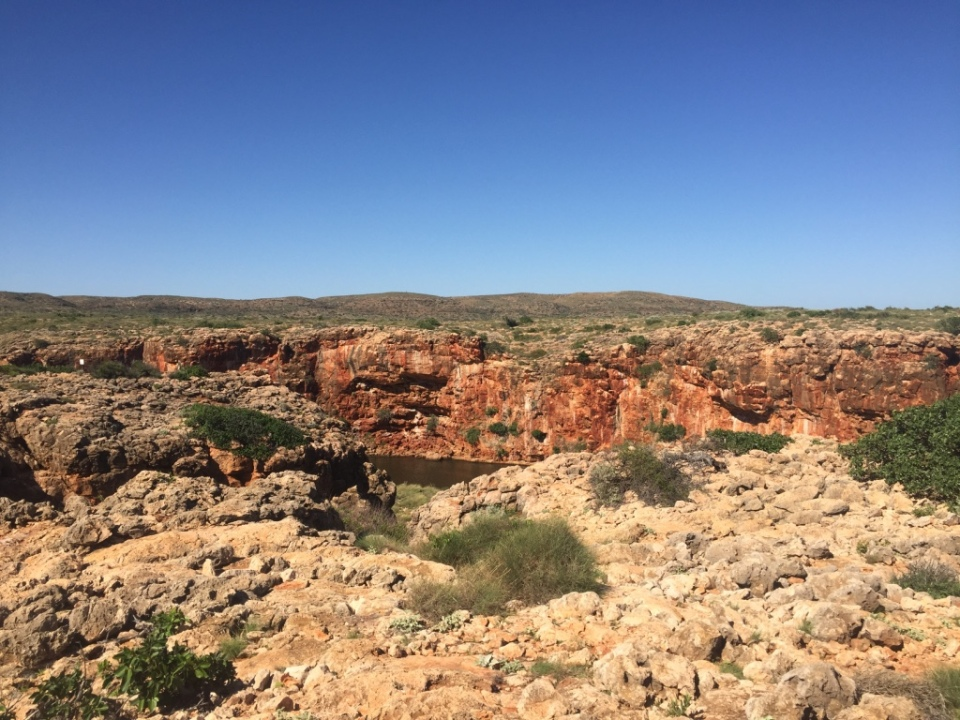 Beautiful Yardie Creek Gorge