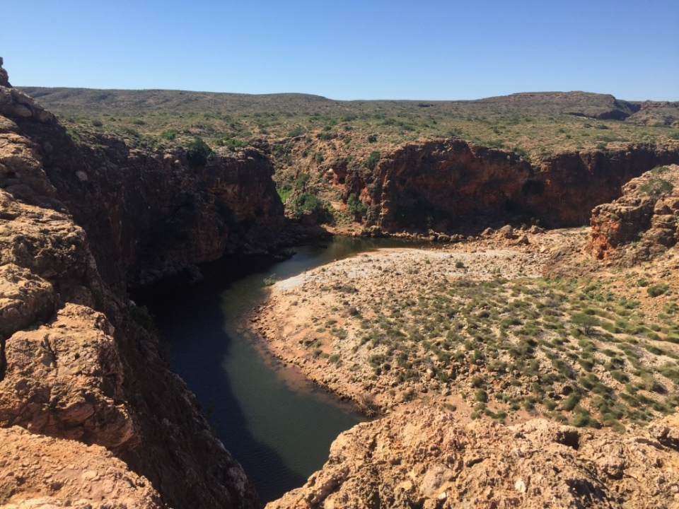 Another view of Yardie Creek Gorge
