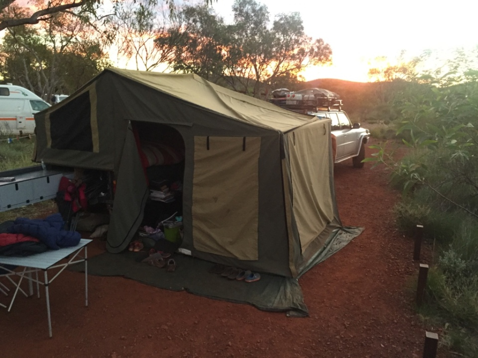 Camp at Karijini