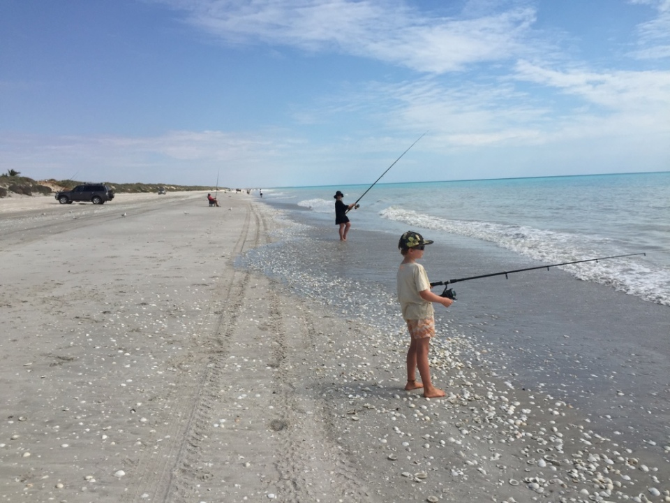 Fishing 80 mile beach