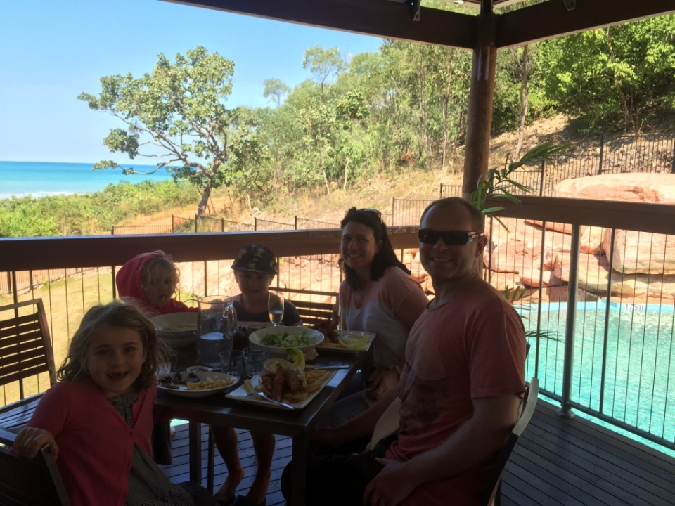 Lunch at the Cygnet Bay