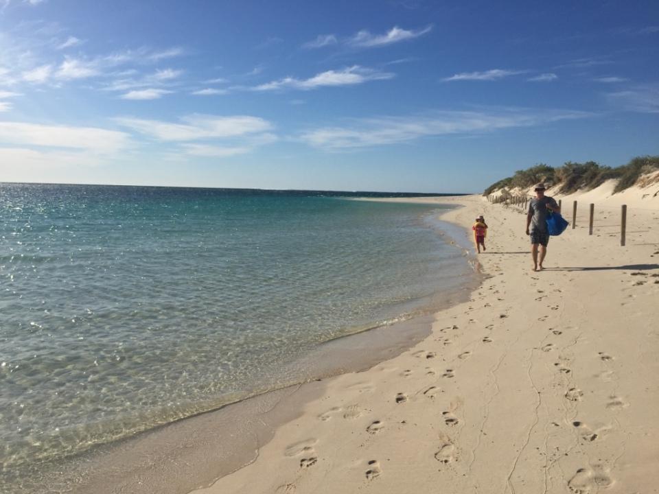 Turquoise bay Cape Range NP