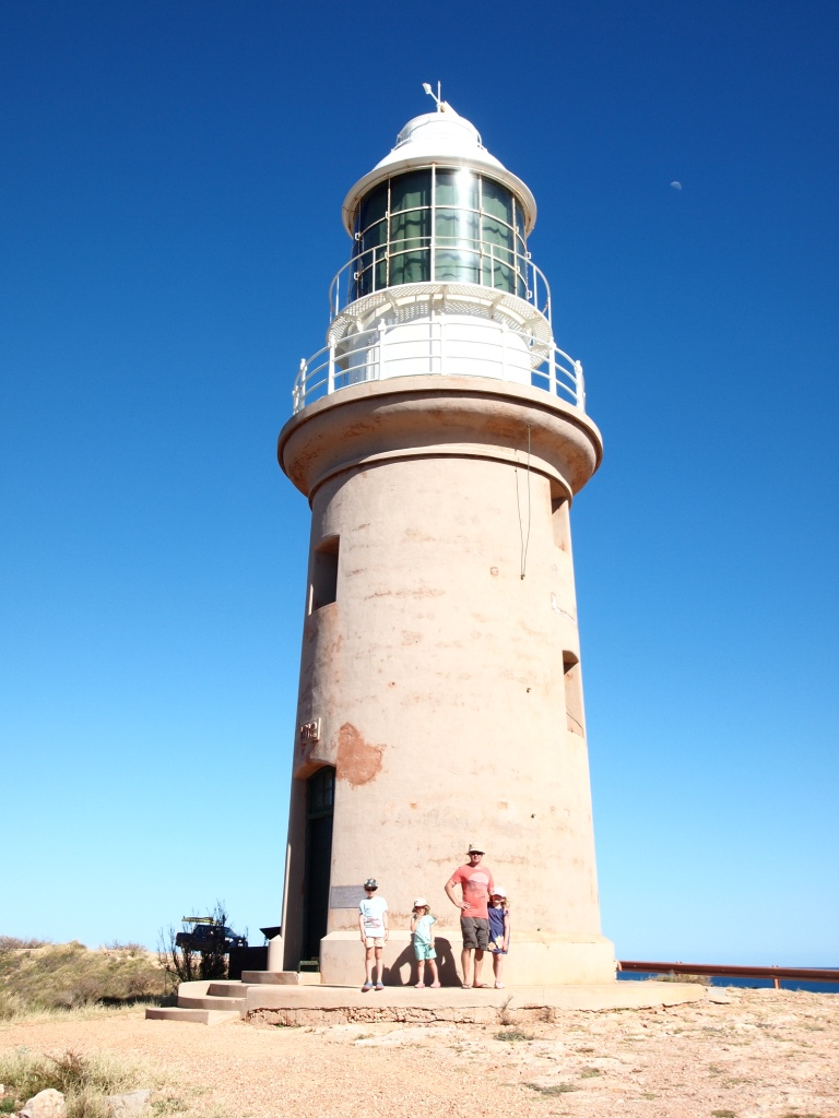 Exmouth lighthouse built in  early 1900s