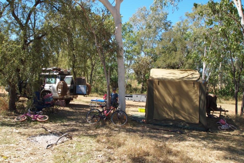 Mt Hart campsite