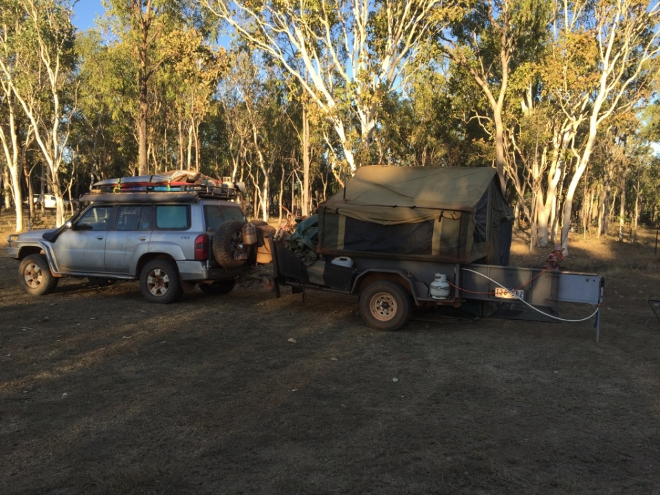 Our camp at Mt Elizabeth