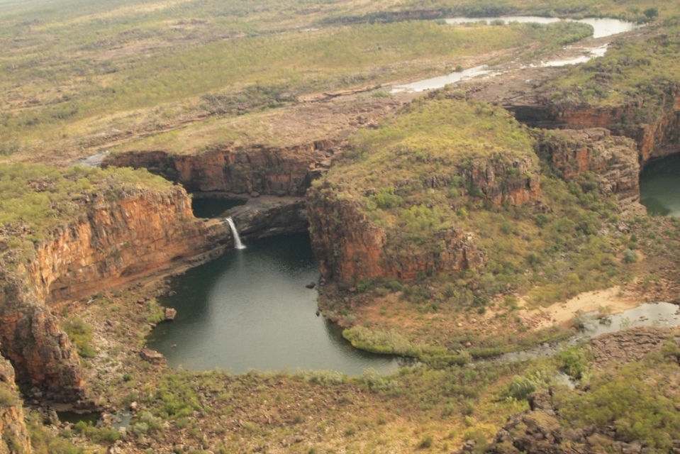 View of Mitchell Falls