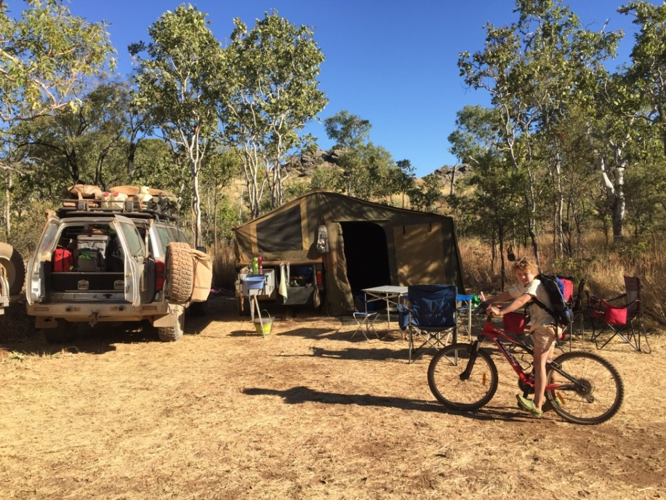 Camp at Kurrajong campground