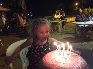 Bianca the birthday girl!