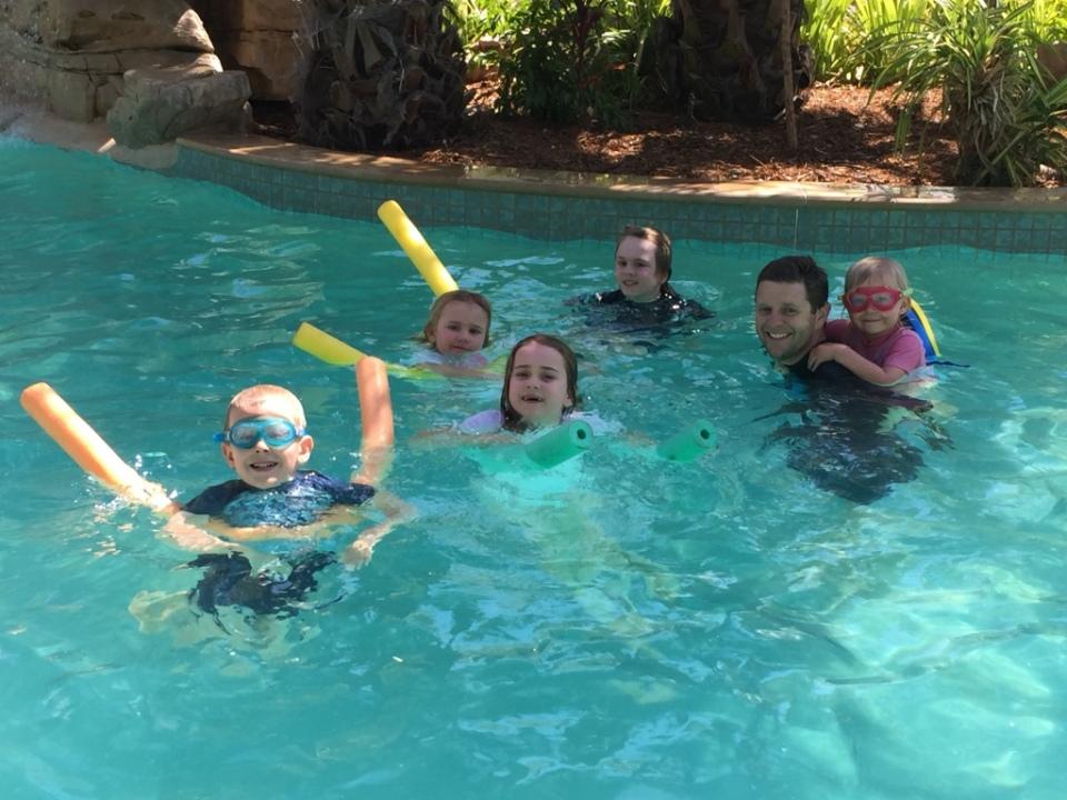 The pool at Katherine Gorge