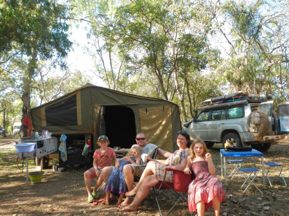 Camp at Cooinda