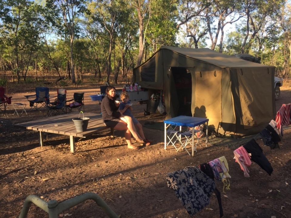 Surprise Creek Camp