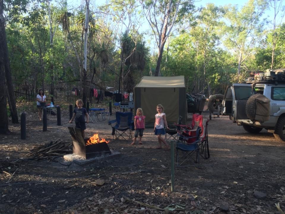 Sandy Creek camp
