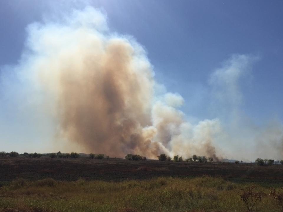 Fires in Arnhem Land