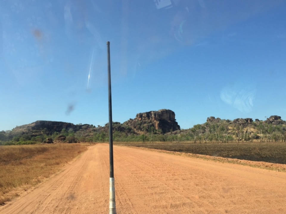 The road into Arnhem Land