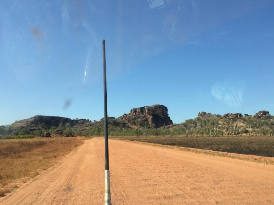 The road into Arnhem Land