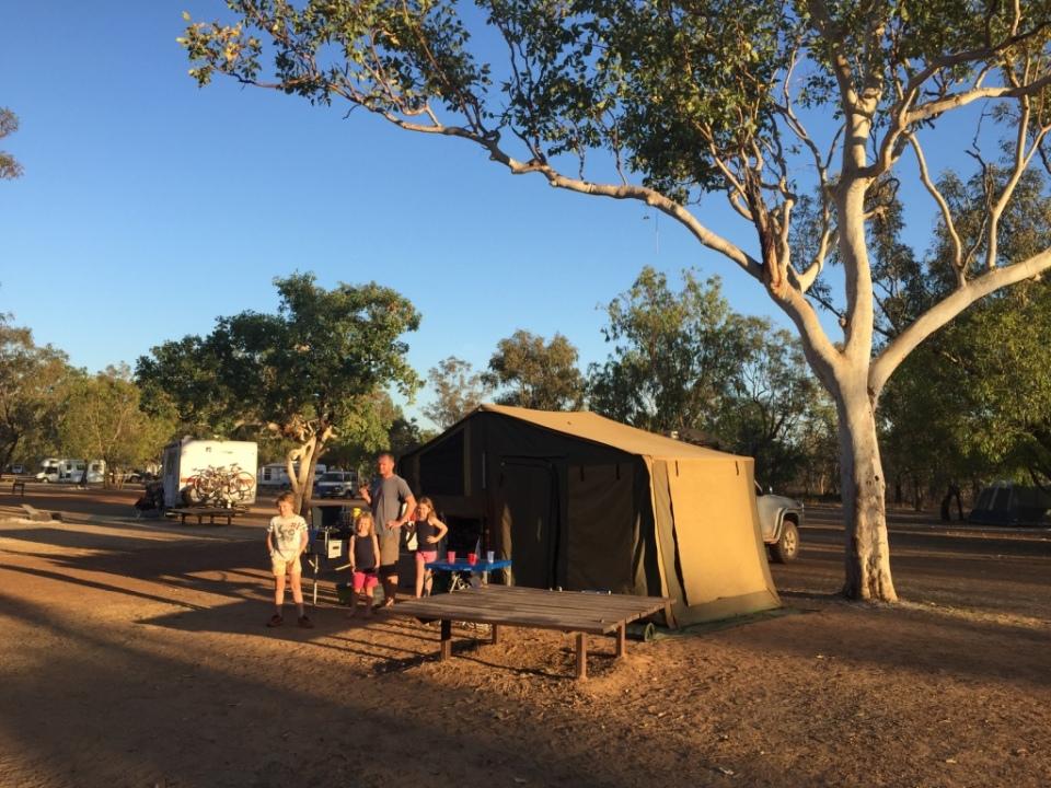 Camp at Douglas Daly