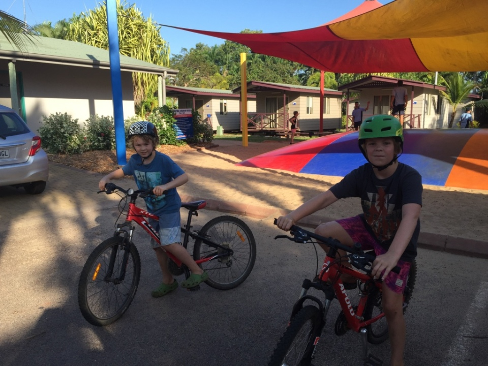 Boys on the bikes