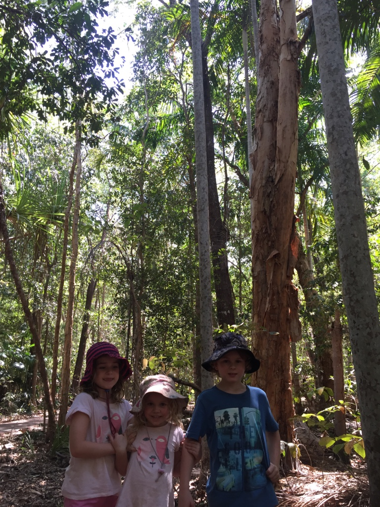 In the bush at Territory Wild