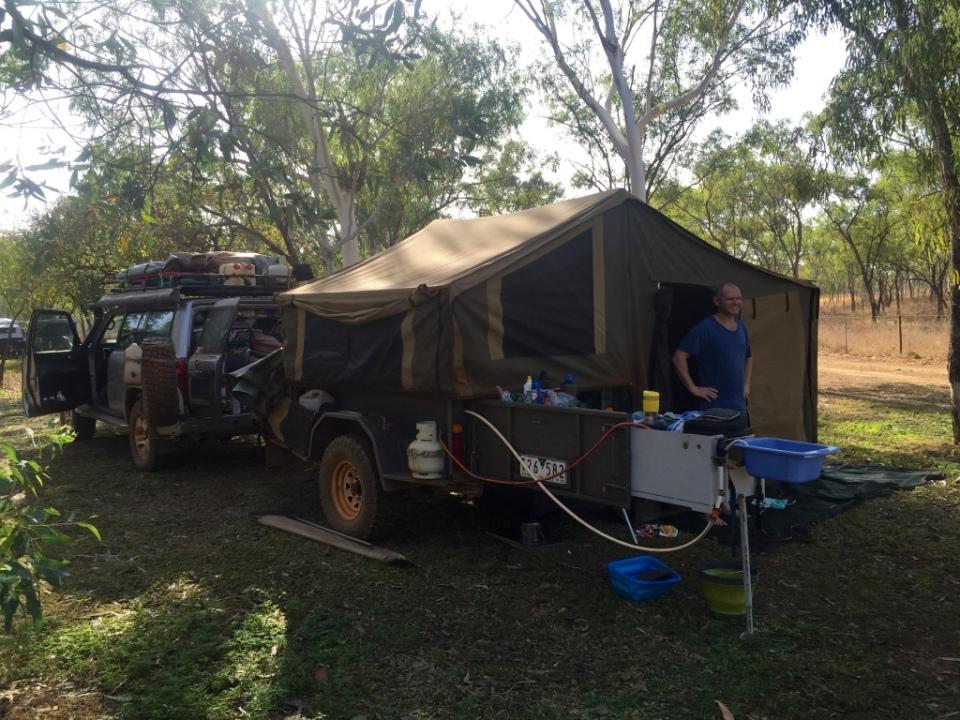 Roper Bar camp