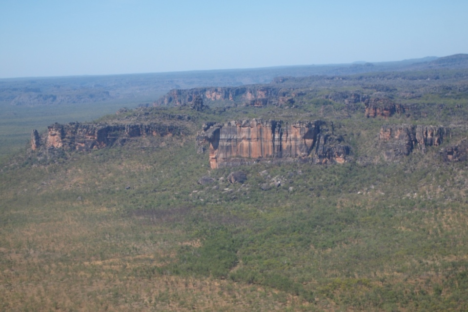 The view of Arnhem Land Escarpment